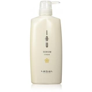 LebeL IAU Serum Cream Аромакрем для увлажнения и разглаживания волос, 600 мл