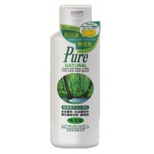 Moltobene Pure Natural Shampoo L Бесщелочной шампунь для объема волос, 300 мл