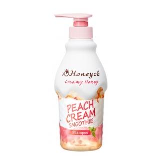 Moltobene Honeyce Peach Cream Smoothie Shampoo Крем-шампунь с медом и персиковым маслом для восстановления и разглаживания волос, 470 мл