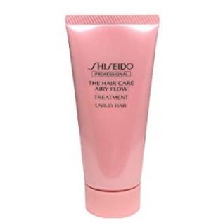 Shiseido Professional The Hair Care Airy Flow Treatment Кондиционер для ухода за непослушными жесткими волосами, 50 г
