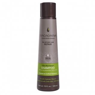 Macadamia Professional Ultra Rich Repair Shampoo Восстанавливающий шампунь для сухих и поврежденных волос, 300 мл