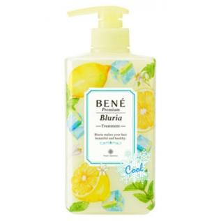 Moltobene Bene Premium Bluria Cool Treatment with Lemon Охлаждающий и освежающий кондиционер для волос с ароматом лимона, 480 мл