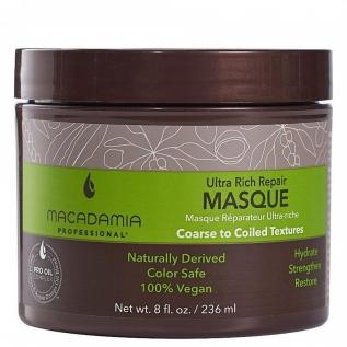 Macadamia Professional Ultra Rich Repair Masque Маска для интенсивного восстановления сильноповрежденных волос, 236 мл