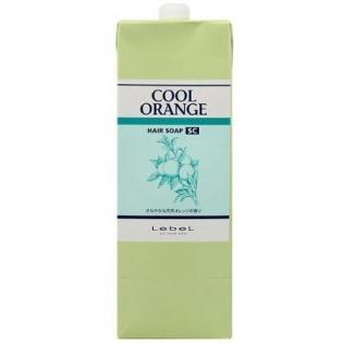 Lebel Cool Orange SC Hair Soap Шампунь Супер Холодный апельсин от выпадения волос, 1600 мл