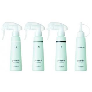 Lebel Proedit Element Charge Программа для восстановления волос «Блеск и сила», 4 элемента