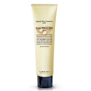 Lebel Hair Treatment with Egg Protein Питательная маска для поврежденных волос, 140 мл