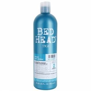 TIGI Bed Head Urban Antidotes Recovery Shampoo Шампунь увлажняющий для сухих поврежденных волос, 750 мл