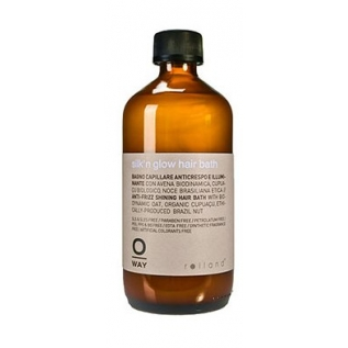 Rolland Oway Silk'n Glow Shampoo Шампунь для волос с анти-фриз эффектом, 240 мл