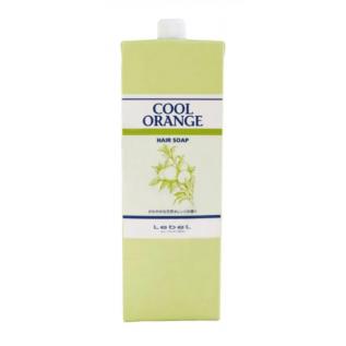 Lebel Cool Orange Hair Soap Шампунь Холодный апельсин от выпадения волос и для решения проблем жирной перхоти, 1600 мл