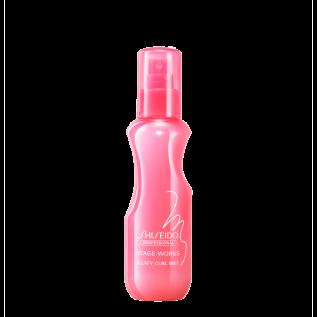Shiseido Professional Stage Works Fluffy Curl Mist Термозащитный спрей для укладки вьющихся и пористых волос, 150 мл
