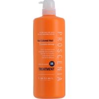 Lebel Proscenia Treatment M Маска для окрашенных волос «увлажнение и питание»,  980 мл