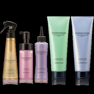 Milbon Inphenom SPA Программа реконструкции «Milbon Inphenom. Глубокое восстановление волос», 5 элементов
