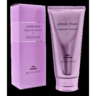 Milbon Jemile Fran J Treatment Бальзам восстанавливающий для жестких волос, 180 г