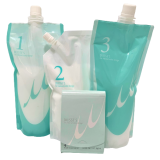 """Milbon Linkage Treatment Spa for Fine Hair Комплексный уход для тонких волос """"Счастье для волос"""", 4 элемента"""