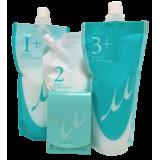 """Milbon Linkage Treatment Spa For Normal Hair Комплексный уход для волос средней плотности """" Счастье для волос"""", 4 элемента"""