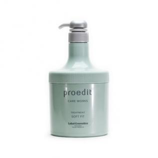 Lebel Proedit Soft Fit Маска для сухих поврежденных волос, 600 мл