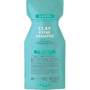 MoltoBene Clay Esthe EX Shampoo Шампунь для профилактики и лечения выпадения волос и перхоти, 500 мл