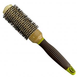 Macadamia Professional Ceramic Round Brush Брашинг для волос с натуральной щетиной,  33 мм