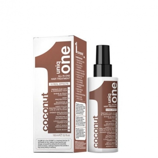 Revlon Professional Uniq One All In One Coconut Hair Treatment Маска-спрей для волос с ароматом кокоса, 150 мл