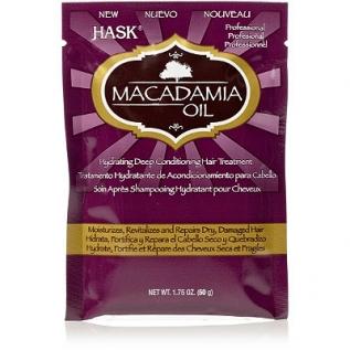 Hask Macadamia Oil Hydrating Deep Conditioner Интенсивно увлажняющая маска с маслом ореха Макадамии, 50 мл