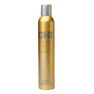 CHI Keratin Flexible Hold Hair Spray Лак для волос сильной и эластичной фиксации, 284г
