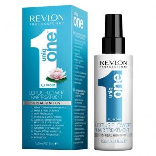 Revlon Professional Uniq One All in One Hair Treatment Lotus Flower Несмываемая маска-спрей для волос, 150 мл