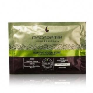 Macadamia Professional Nourishing Moisture Masque Маска для питания и увлажнения волос, 30 мл