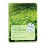 Tony Moly Pureness 100 Green Tea Mask Sheet Тканевая маска с экстрактом зеленого чая