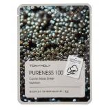 Tony Moly Pureness 100 Caviar Mask Sheet Тканевая маска с экстрактом черной икры